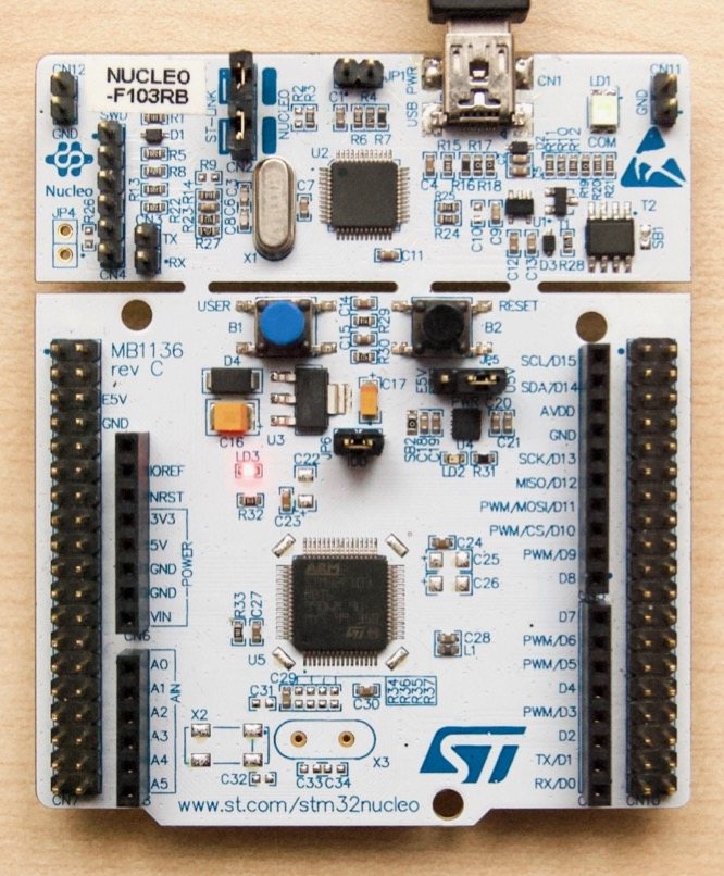 STM32F103 low-power mode : JeeLabs