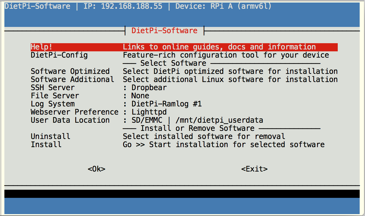 Setting up the Pi software • JeeLabs