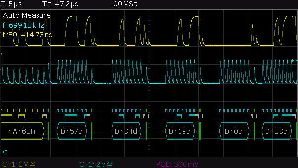 Bit-banged I2C timing » JeeLabs