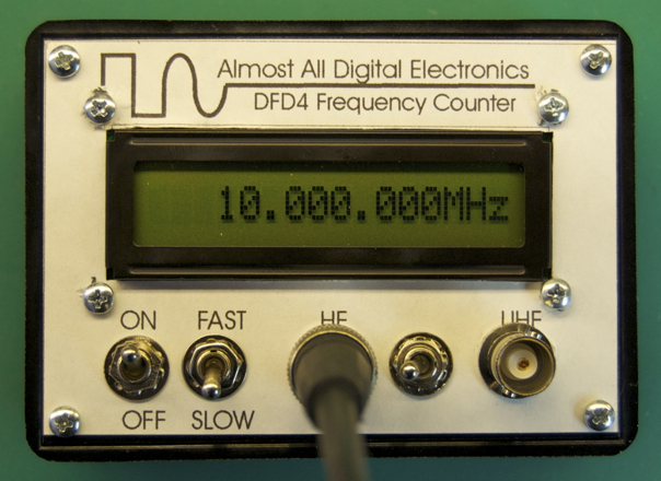 Frequency Counter Projects : Tk frequency meter jeelabs