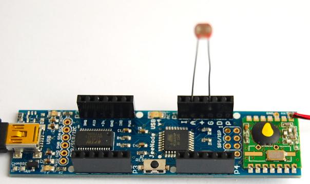 DIJN.11 – Connect the light sensor » JeeLabs