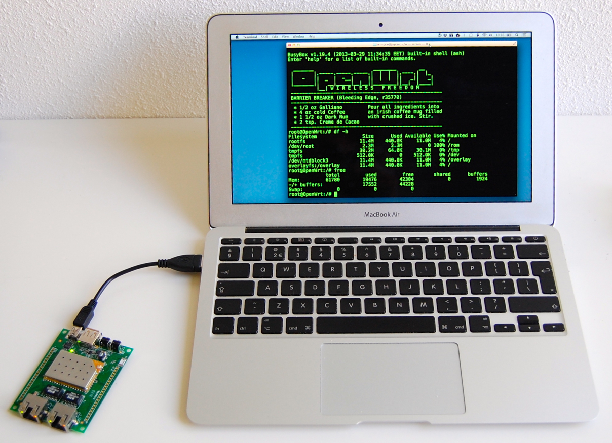 187 Embedded Linux Carambola 2 187 Jeelabs