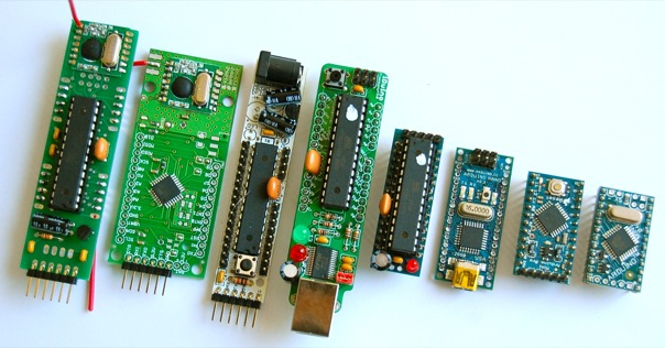 Another AVR board line-up