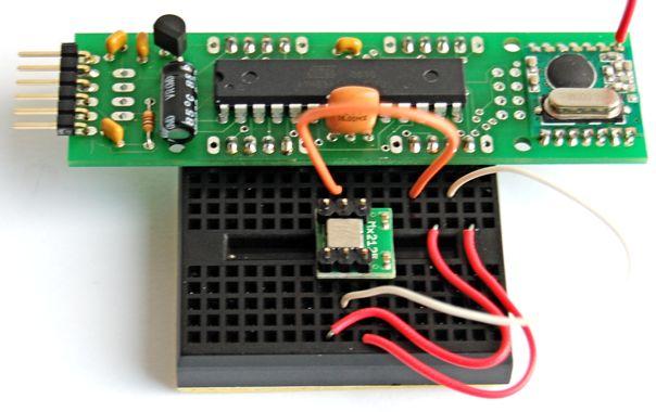 Memsic 2125 2-axis accelerometer