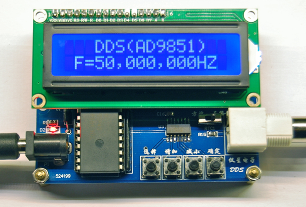 Write a program to generate square wave using dac interface